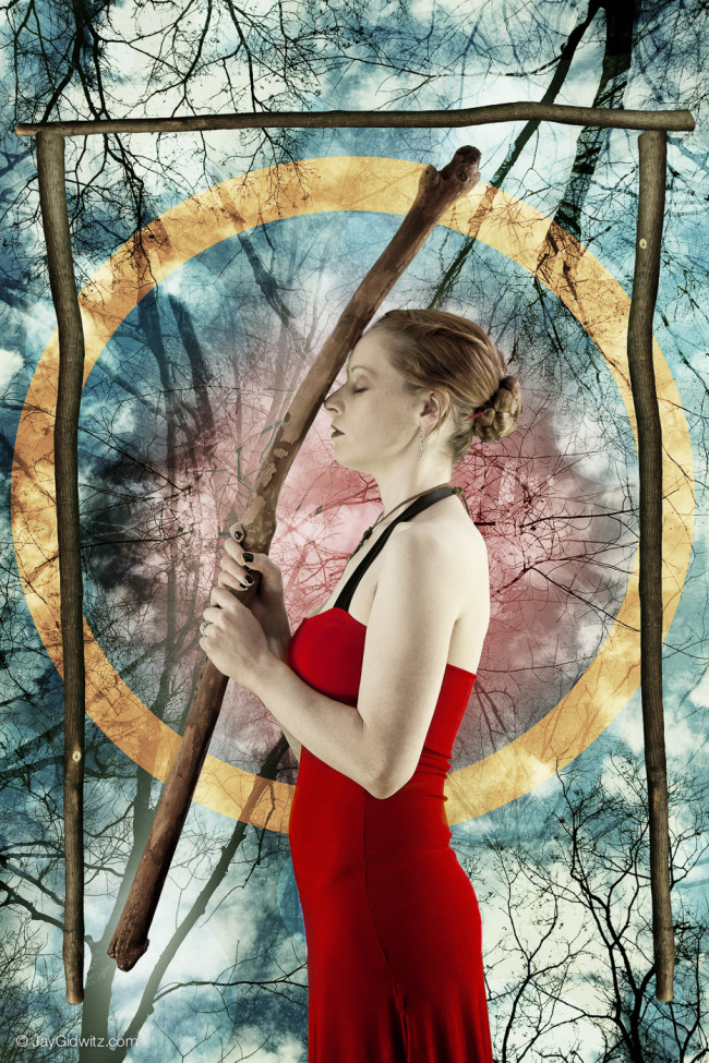 The Four of Wands